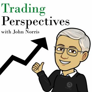 Trading Perspectives Podcast logo, John Norris